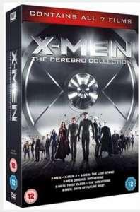 X-Men: The Cerebro Collection DVD | Zavvi.com - £10.99
