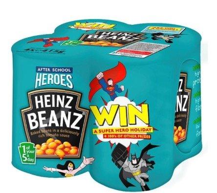 Heinz Beanz Multipack 4 x 415g £2.00