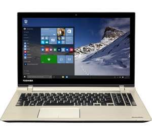"TOSHIBA Satellite P50-C-18K 15.6"" Laptop - Brushed Metal £699 @ Currys"