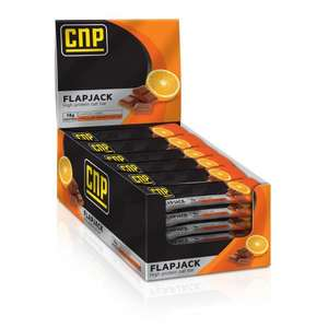 CNP ENDURANCE High Protein Flapjack Snack Bar - Box of 24 @ CNP Professional