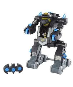 imaginext batbot back in stock at argos - £46.66