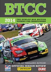 BTCC 2014 Review (2 Disc) DVD - £7.49 @ Duke Video