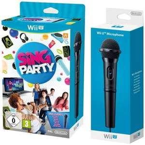 Wii U Sing Party + 2 Wii U Microphones @ Nintendo store - £9.79 + free del. with £20 spend or £11.78 Delivered