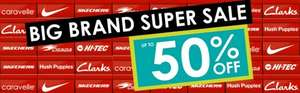 Brantano Big Brand Super Sale Upto 50% off Instore & Online