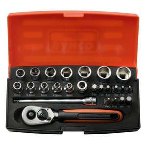 "* Bahco SL 25 1/4"" Socket Set - Cheaper than ever now * £15.00 + £6.25 p&p @ Toolstop"