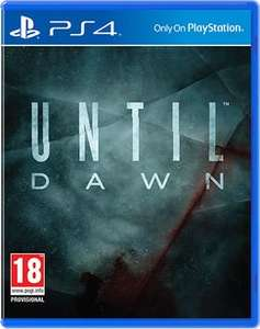 Until Dawn (PS4) - £17.99 Delivered - GAME