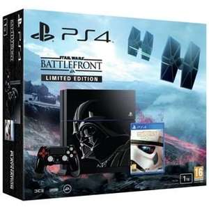 PS4 1TB Star Wars Battlefront Special Edition Bundle + Uncharted Collection £329.99 @ Argos