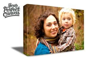 A2 Canvas print for a photo of your choice for £8.00 @ Spree