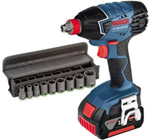 18v Bosch Impact Wrench With 2 x 1.3AH Batteries and Scoket Set £185.94 @ Lawson His