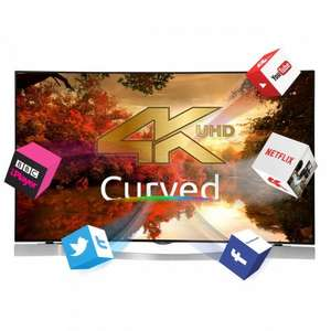 "Finlux TV Cyber sale, Different models available from £299 (50""), incl HD, 4k, curved, also free tablet on 49"" or 55"" TV. Free del"