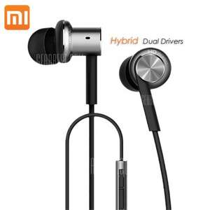 Xiaomi Hybrid Dual Drivers Earphones In-Ear Headphones now only £11.44 at Gearbest