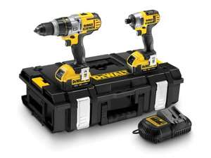 Dewalt DCK290M2 Combi drill and impact driver. £236.55 from Toolstop