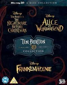Tim Burton Collection 3D (Includes 2D Copies / 6 Disc Blu-Ray) £17.99 Delivered @ Zavvi