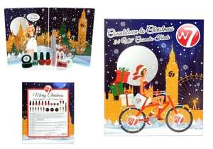 W7 Cosmetic Advent Calendar £9.99 at The Perfume Shop in store only