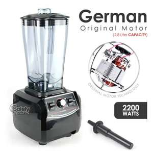 German motor Commercial Blender G6300 2.8L 2200W Black £94.99 @ pricebuster_uk1 / ebay