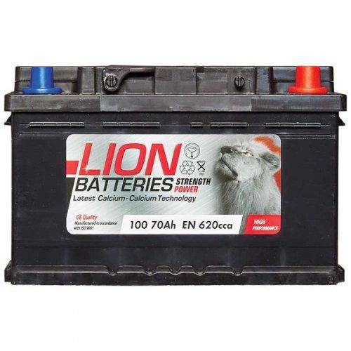 Lion Battery (Battery 100 (70Ah) 3 Year Guarantee) £33.37 @ Euro Car Parts