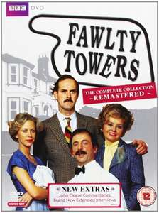 Fawlty Towers - The Complete Collection (Remastered) [DVD] [1975] - Amazon - £8.99 (Prime) £10.98 (Non Prime)