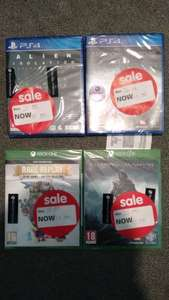Asda Bexleyheath - Many XB1/ PS4/ 360 and some Wii games cheap!