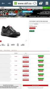 Five Ten Impact Low 2 Shoes Black £53.99 @ Stif Performance Cycles