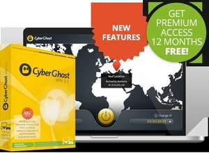 The best VPN CyberGhost 5.5 is FREE again!!!! For 12 Months!!!