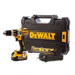 DeWalt DCD795M1 18V Brushless Drill + 4ah Li-ion battery + case + free del, £117.54 @ Toolstop