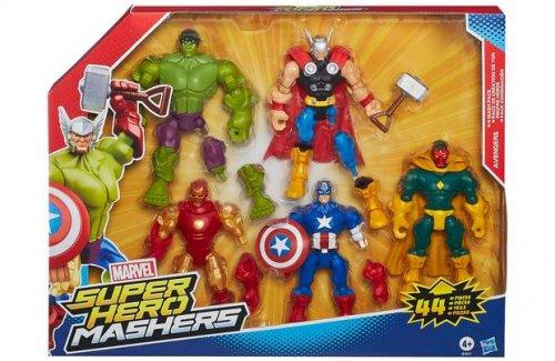 Marvel Super Hero Mashers Figure 5 Pack.  Good starter kit @ Argos