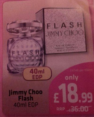 Jimmy choo falsh 40ml EDP £18.99 @ Savers