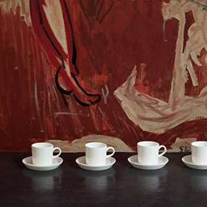 Jamie Oliver Espresso Cups x 4 & saucers £12.00 (prime) £16.75 (non prime)   were £34! Sold by Inspired Cookware and Fulfilled by Amazon