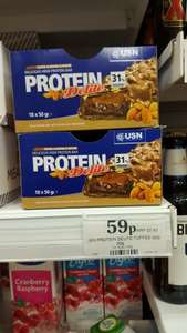 USN PROTEIN BARS 59p @ Home Bargains
