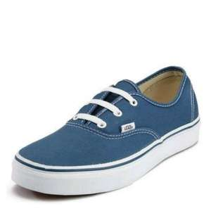 Vans 'Authentic' Plimsolls Navy Size 12  £26.94 @ Bargin Crazy