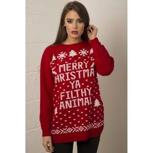 Home Alone Christmas jumper £6.74 del. + other designs @ Miss Foxy