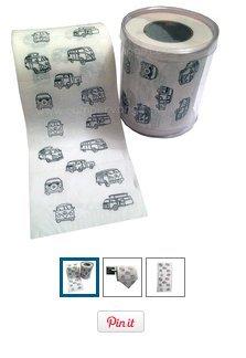 Novelty Toilet paper £4.95 @ Campervangifts