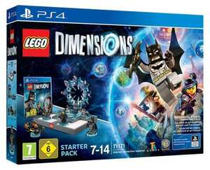 LEGO Dimensions: Starter Pack (PS4 & xbox1)  £74.99 Amazon