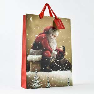 5 Christmas small gift bags £1, 3 Medium £1 or 2 extra large £1.50 INSTORE@Cardfactory