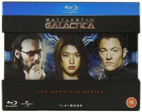 Battlestar Galactica - The Complete Series Blu-ray £17.99 Prime delivered (£20.98 non Prime) @ Amazon