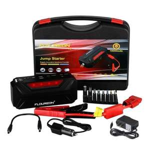 Floureon T3 18000mAh Car Jump Starter & Power Bank for £44.99 W/FS Sold by Oxford Street and Fulfilled by Amazon