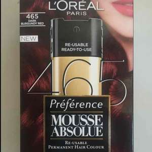 Mousse Absolue - L'Oreal Hair Dye £1.99 in Home Bargains.