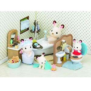 Sylvanian families country bathroom set £12.75 prime or £16.74 non prime @ Amazon
