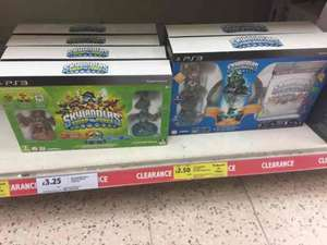 skylanders swap force and spyros adventure PS3 starter packs £3.25 and £2.50 in store Tesco
