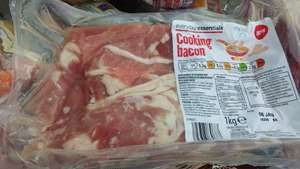ALDI 1kg of cooking bacon £1.50!