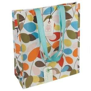 Vintage Ivy Design Shopper Bag reduced to £1.95 (+ £3.95 delivery).  Free P&P over £10 with sign up @ dotcomgiftshop