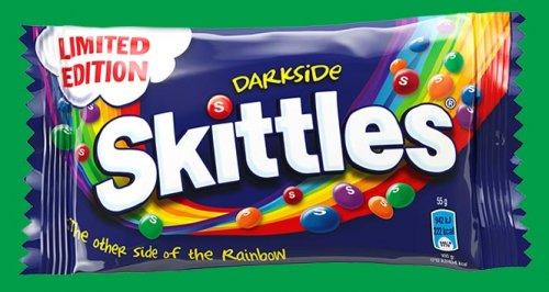 Skittles Darkside 55g packet for 15p @ Tesco in store