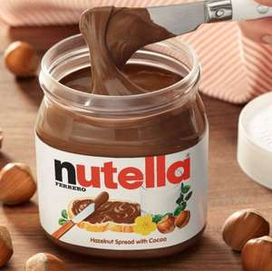 Nutella Spread - 750g - £3.00 - Morrisons