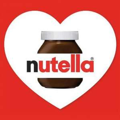 Free personalised Nutella Label.