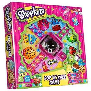 Shopkins pop n race game by John Adams - £9.99 (Prime) £14.74 (Non Prime) @ Amazon
