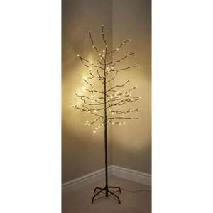 wilko 6ft pre lit twig tree 25 instore hotukdeals. Black Bedroom Furniture Sets. Home Design Ideas