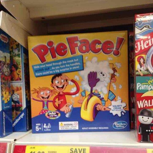Pie Face - £11 instore @ Tesco