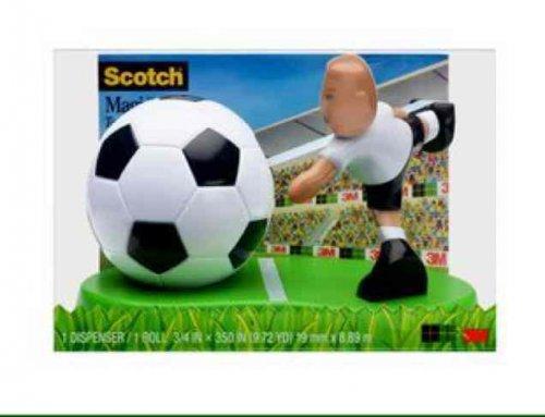 Scotch tape footballer dispenser 99p at Home Bargains