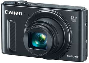 Canon SX610 HS 20.2MP Digital Camera (in 3 colours) £108 w/Voucher @ Boots