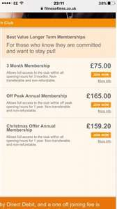 Xmas Offer! Annual Gym Membership Only £159.20 @ Fitness4Less